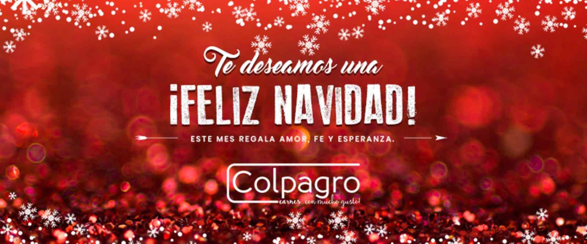 Banner Feliz Navidad Colpagro 2018